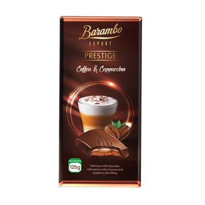 Barambo Export Prestige – ყავა და კაპუჩინო